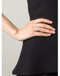 V Jewellery Metallic 'Simplicity' Multiform Ring