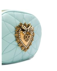 Dolce & Gabbana Devotion ショルダーバッグ Blue