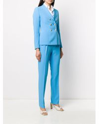 Костюм T-anise С Двубортным Пиджаком Tagliatore, цвет: Blue