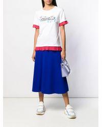 T-shirt Passion Flower KENZO en coloris White