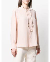 Chloé ボウタイ シャツ Pink