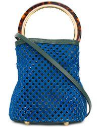 Marni - Blue Pannier Tote Bag - Lyst
