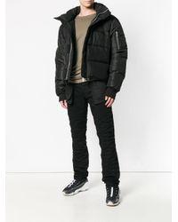 Unravel Project Black Inside-out Jeans for men