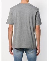 メンズ Love Moschino ロゴ Tシャツ Gray