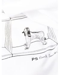 PS by Paul Smith プリント Tシャツ White