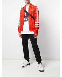 メンズ Adidas Authentics トラックジャケット Red