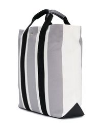 Borsa shopper a righe di CALVIN KLEIN 205W39NYC in Multicolor da Uomo