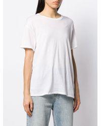R13 ボーイフレンド Tシャツ White