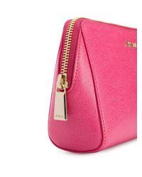 Neceser Electra Furla de color Pink