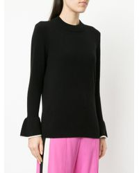 Veronica Beard Black Cashmere Mar Sweater
