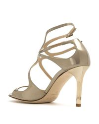 Sandalias Lang Jimmy Choo de color Yellow