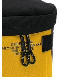 DIESEL Utility-Rucksack mit Kordelzug in Yellow für Herren