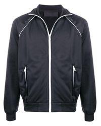 Prada Sportjas Met Contrasterende Afwerking in het Black voor heren