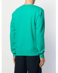 Sandro 'Love' Sweatshirt in Green für Herren