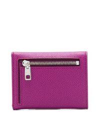 Cartera con logo Dolce & Gabbana de color Pink