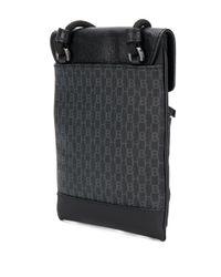 Petit sac porté épaule à logo imprimé BOSS pour homme en coloris Black