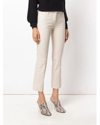 Dorothee Schumacher Natural Cropped Trousers