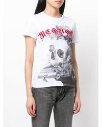 Alexander McQueen White Dutch Masters T-shirt