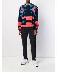 Felpa con stampa di Nike in Multicolor da Uomo