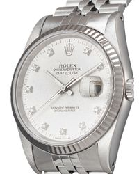 Montre Oyster Perpetual Datejust 36 mm pre-owned (1991) Rolex en coloris Metallic