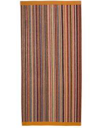 Полотенце Signature Stripe Paul Smith для него, цвет: Multicolor