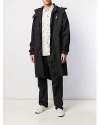 Cappotto con ricamo di Neighborhood in Black da Uomo