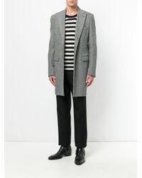Классические Брюки Строгого Кроя Saint Laurent для него, цвет: Black