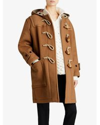 Burberry - Multicolor Greenwich Duffle Coat - Lyst
