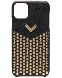 Manokhi Stud-embellished Iphone 11 Pro Max Case Black