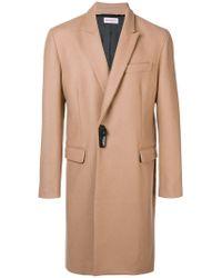 Palm Angels Natural Woven Smart Coat for men
