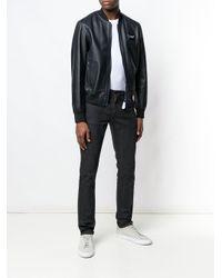 Классические Джинсы Скинни Saint Laurent для него, цвет: Black