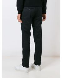 DSquared² Black Slim Fit Trousers for men