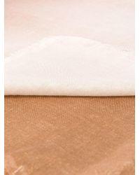 Écharpe à effet dégradé Faliero Sarti en coloris Brown