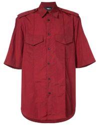 Yang Li - Red Chest pockets shirt for Men - Lyst