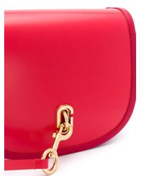 Marc Jacobs サドルバッグ Red