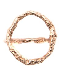 Niza Huang Metallic 'illusion Siska' Ring