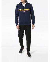 メンズ Polo Ralph Lauren フリースセーター Blue