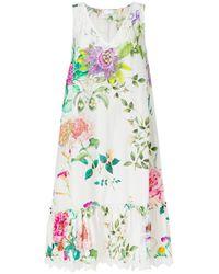 P.A.R.O.S.H. Multicolor Abito Lace Dress
