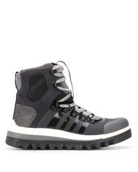 Adidas By Stella McCartney パネル アンクルブーツ Black