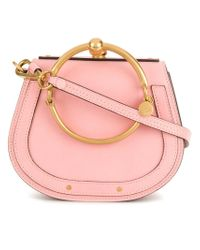 Chloé Pink Nile Small Bracelet Bag