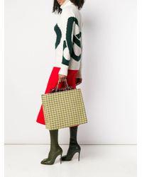 Victoria Beckham ツイード トートバッグ Multicolor