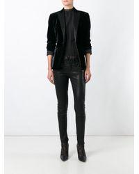 DSquared² - Black 'tuxedo' Velvet Effect Blazer - Lyst