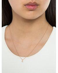 Lauren Klassen Metallic Tiny Padlock Necklace