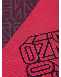 KENZO Red Flying Scarf