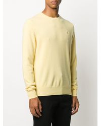 メンズ Polo Ralph Lauren ロゴ セーター Yellow