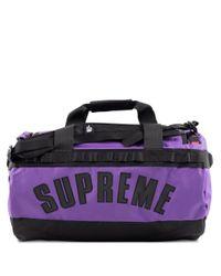 Supreme Tnf Arc Logo Small Base Camp D Purple