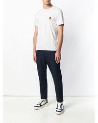 T-shirt Smiley AMI pour homme en coloris Gray