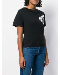 Vivienne Westwood Anglomania Black Historic Logo T Shirt