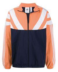 Colour-block jacket di Adidas in Blue da Uomo