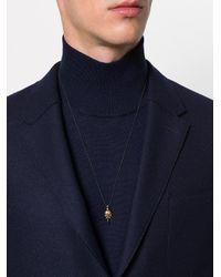 Shaun Leane Black Eagle Skull Pendant Necklace for men